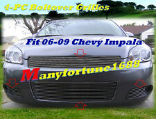 06 07 08 2008 Chevy Impala Billet Grille Grill COMBO