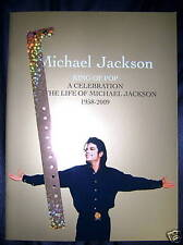 ♫ Michael Jackson Staples Centre Memorial Program and Wristband ♫