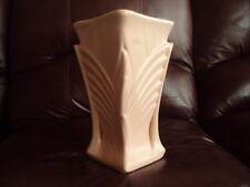 """Vintage Mccoy Art Deco 9"""" Pink Vase"""