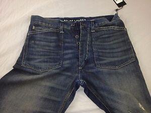 Ralph-Lauren-Mens-Black-Label-Baggy-Jeans ( W30- L 32)