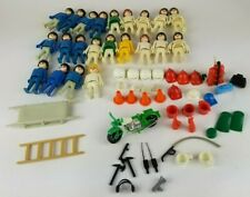 1974 Geobra Playmobil People & Accessories Cops and Fire Rescue Mixed Lot of 62