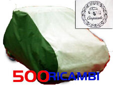 FIAT 500 F/L/R TELO COPRI AUTO TRICOLORE ITALIA PER INTERNO ANTIPOLVERE NUOVO