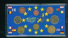 BELGIUM 8 Coins Euro SET: 2€ ; 1€ ; 50 Cents 20 ; 10 ; 5 ; 2 ;1 Cent (1999-2001)