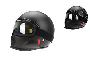 Viper RS07 Trooper Open Face Helmet Motorbike Motorcycle Road Crash Lid Helmet