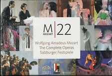 MOZART M22 / THE COMPLETE OPERAS / SALZBURGER FESTSPIELE  / 33 DVD BOX NEW