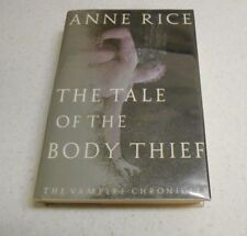 The Tale of the Body Thief by Anne Rice, SIGNED, 1st Edition, HC / DJ, 1992