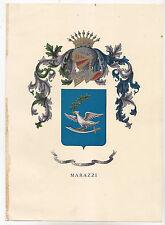 U732-ARALDICA-STEMMA FAMIGLIA MARAZZI