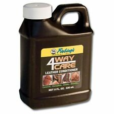 Fiebings 4 Way Care Leather Conditioner Cleaner Protector Tandy 8 Oz.