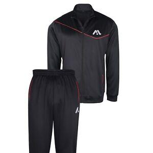 MODEL Branded Mens Sports Tracksuit Long Sleeve Comfort Light and Regular Fit