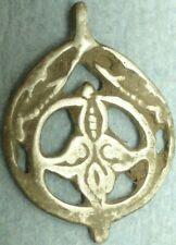 Ancient Silver Openwork Pendant