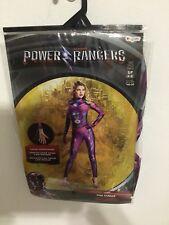 Power Rangers Pink Ranger Deluxe Adult Women's Costume Size 4-6 New!