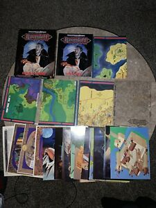 TSR AD&D 2nd Edition Ravenloft Boxed Set Realm of Terror Complete 1053