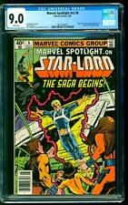 Marvel Spotlight 6 CGC 9.0 VF/NM 1st Star-Lord (Peter Quill) Sienkiewicz cover