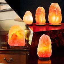 HIMALAYAN SALT LAMP Natural Pink Crystal Rock Dimmer Switch Night Light 5-20 Kgs