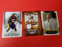 KOBE BRYANT Shaquille O'Neal JERSEY PATCH #d2/12 LEBRON JAMES ROOKIE CARD LAKERS