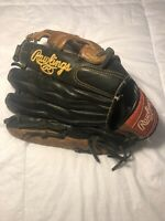 """Rawlings Premium Series D1275BC 12.75"""" Black/Brown All Leather Shell See Pics"""