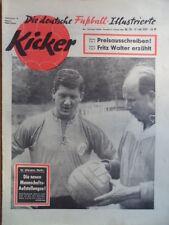 KICKER 28- 13.7. 1959 Horst Szymaniak Eddi Frühwirth Fritz Walter Tour de France