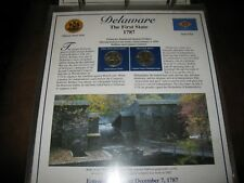 Postal Commemorative Society Statehood Quarters Collection Vol 1 Not Complete
