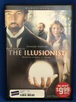 The Illusionist DVD Edward Norton, Jessica Biel, Paul Giamatti
