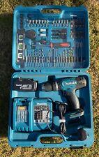 Makita DHP453SFTK 18V LXT Combi Drill with 3.0Ah Battery Case & Tool DIY set