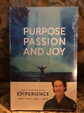 PURPOSE PASSION & JOY by Joel Osteen 1 DVD & 2 CDs & JOURNAL (new & sealed)