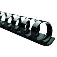 Gbc Combbind Black 12 Inch Diameter Plastic Binding Combs 100 Count New