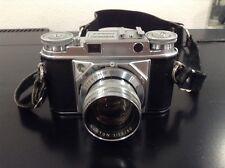 Really nice vintage Voightlander Prominent Camera With Nokton 50mm F/1.5 Lens