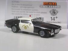 TOP: Brekina USA Chevrolet Camaro California Highway Patrol in OVP