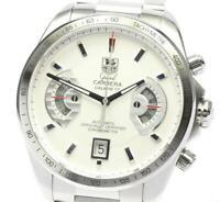 TAG HEUER Grand Carrera CAV511B Chronograph calibre 17 Auto Men's Watch_601641