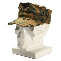 Genuine U.S army garrison cap MARPAT MC WOODLAND field military hat BDU patrol
