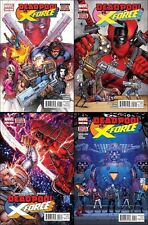 Deadpool vs X-Force 1 2 3 4 complete set lot Cable movie HTF 1st printing