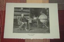 1911 Thomas Alva EDISON IN HIS LIBRARY Menlo Park INVENTOR Pach Bros Photo Print