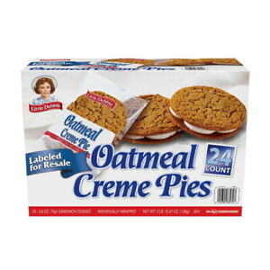 Little Debbie Oatmeal Creme Pies, 48 Total Individually Wrapped Cookies. DEAL!!