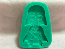 Cake Decorating Cupcake Fondant Silicoive Mould Star Wars Darth Vader