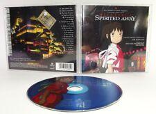 SPIRITED AWAY La città incantata Soundtrack Colonna sonora OST - CD usato