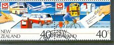New Zealand Post-Cars-Trains-Vans etc set of 2 fine used (1421-22)