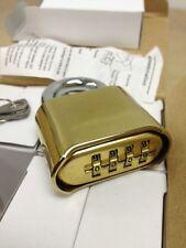 Qty 8 MASTER LOCK TYPE Combination Padlocks, 4 Dial school locker construction