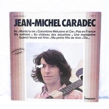 """33T Jean Michel CARADEC Disque Vinyle LP 12"""" ILE - MORDS LA VIE - IMPACT 6886513"""