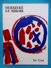 TAL COAT Derrière le Miroir 1962 n° 131 DLM 8 Lithographies Tirage original art