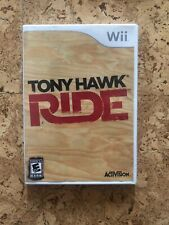 TONY HAWK: RIDE WII W/ ORIGINAL BOX GOOD No Manual Tested