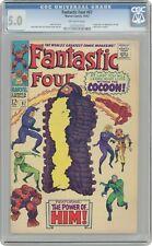 Fantastic Four #67 CGC 5.0 1967 1207541015 1st app. Him (Warlock)