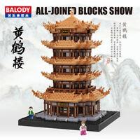Balody 16068 Architecture Tower of Yellow Crane Diamond Bausteine Nano Blocks