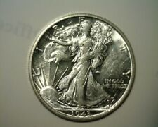 1943 S SILVER  WALKING LIBERTY  ABOUT UNCIRCULATED   GREAT LOOKING COIN!!!