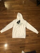 New Men's Jordan X PSNY WNL We Need Leaders Hoodie 942134-010 White Size XL