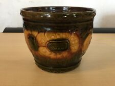Scheurich Keramik West Germany 887-14 ceramic Flower pot Lava German Pot Planter