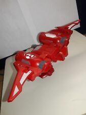 Bakugan Rojo Pyrus Jetkor Deka 70G Batalla Gear con tarjetas de batalla
