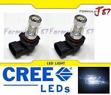 CREE LED 80W H10 9145 WHITE 5000K TWO BULB FOG LIGHT REPLACE OFF ROAD JDM SHOW