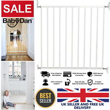Baby Safety Stairway Gate No Trip Screw Doorway Pressure Mounted Walk-Through UK