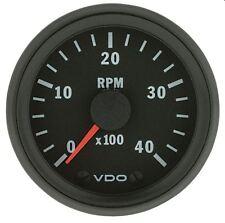 VDO Tachometer 12Volt Electronic 0-4,000 RPM 52mm Dia Cockpit Vision