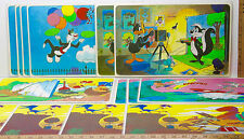 "15 Pepsi Warner Bros 1976 Placemats Sylvester+Tweety+Wiley Looney Tunes 10""x16"""